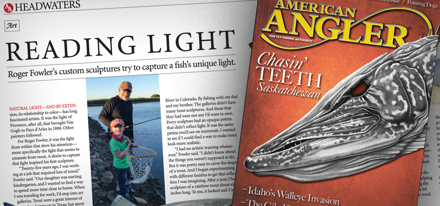 American Angler Magazine: Reading Light