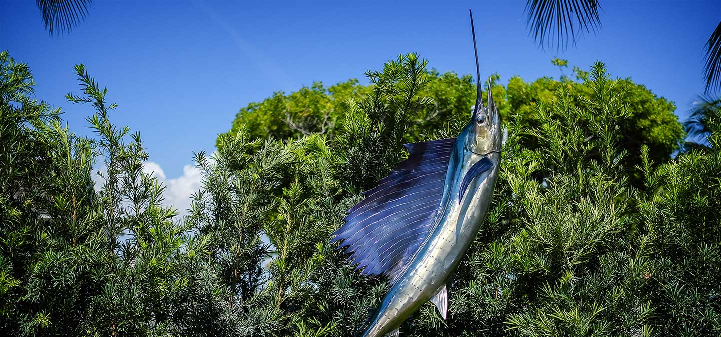 Sailfish Club of Florida Selects Fowler Sculpture