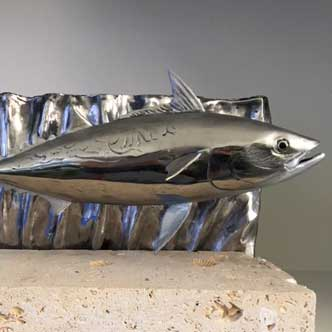 False Albacore sculptures